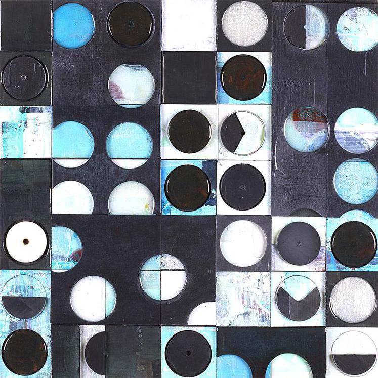 Kevin Keul Blue Irrigation Circles A