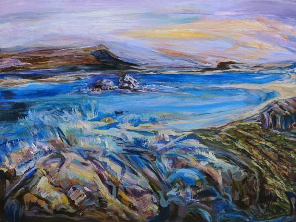 """Michelle Inouchi """"Sunrise Over The Bay"""""""