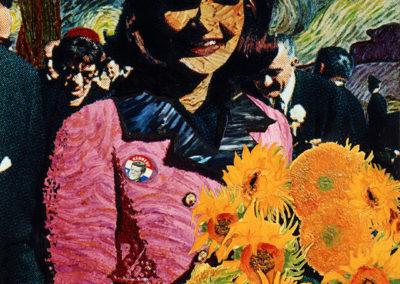 Brett Kaufman - Van Gogh's 'Jackie O'