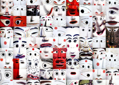 Simo Neri - MASKS in Red and White