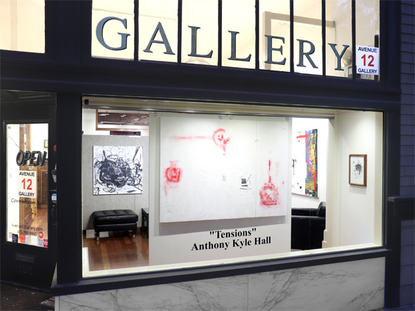Anthony Kyle Hall Avenue 12 Gallery Window